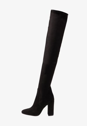 High heeled boots - nero castro