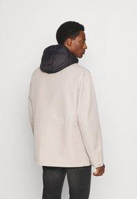 Armani Exchange - CABAN COAT - Winterjas - pure cashmere/black - 2