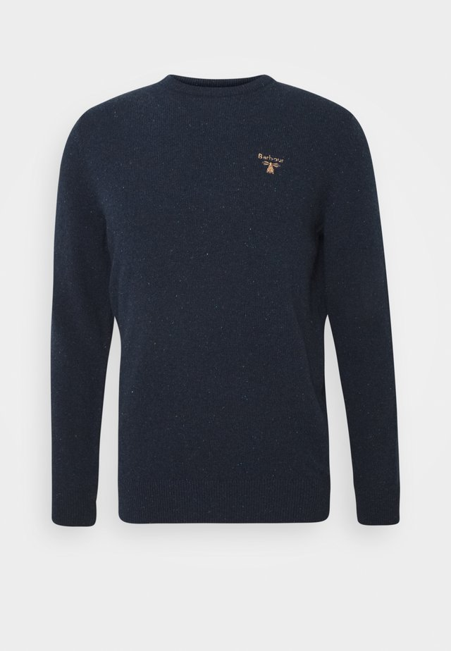 BEACON ROAN CREW - Strikkegenser - navy
