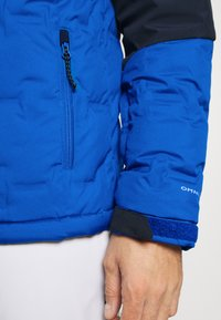 Columbia - WILD CARD JACKET - Kurtka narciarska - bright indigo/collegiate navy - 4