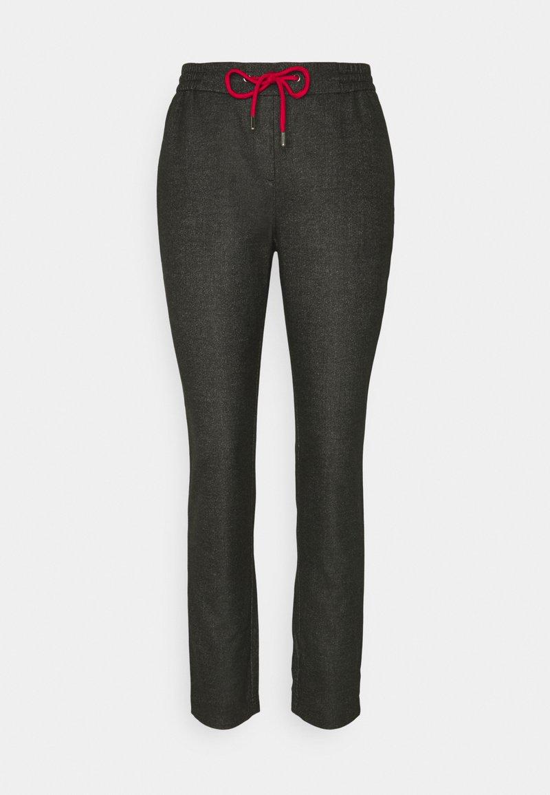 comma casual identity - Trousers - dark grey
