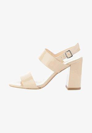 CASTELLO  - Sandály na vysokém podpatku - beige