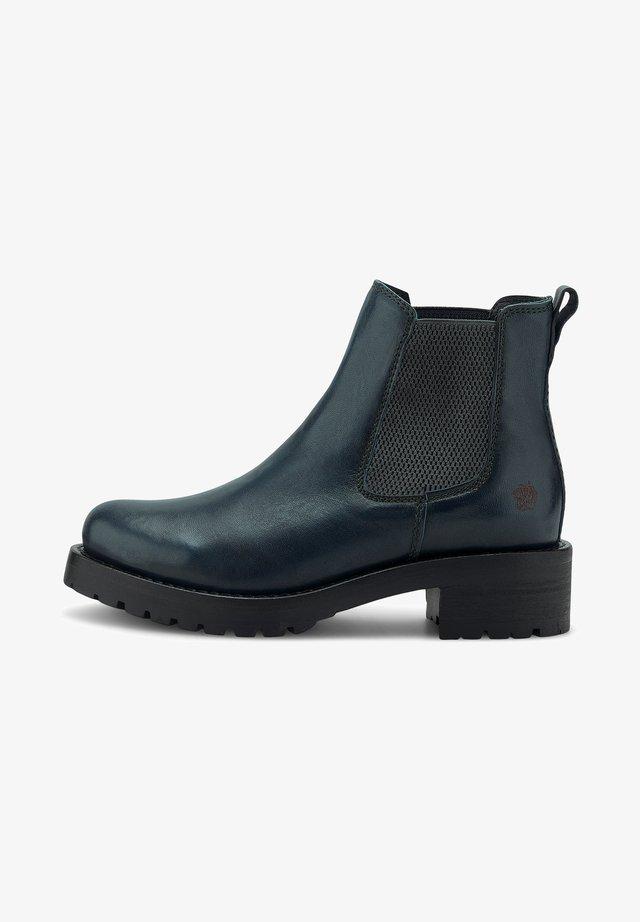 MONIKA - Classic ankle boots - petrol