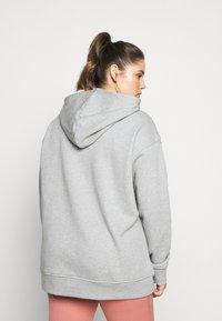 adidas Originals - HOODIE - Hoodie - grey/white - 2