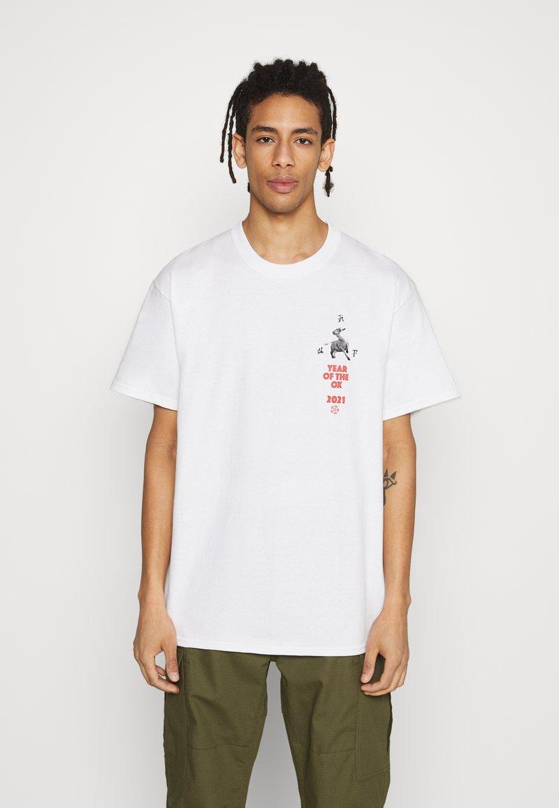 HUF - YEAR OF THE OX TEE - Print T-shirt - white