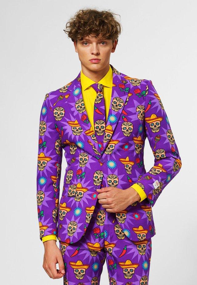 EL MUERTO - Suit jacket - purple