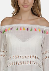 IZIA - IZIA KLEID - Day dress - white - 3