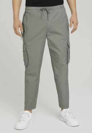 Cargo trousers - greyish shadow olive