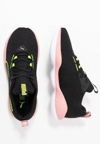 Puma - FLOURISH FS SHIFT - Gym- & träningskor - black/white - 1