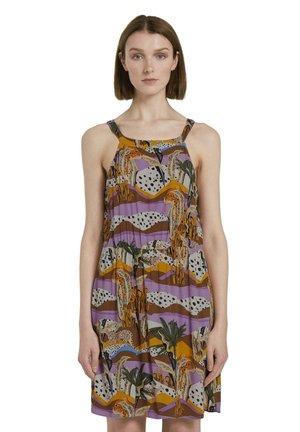 Day dress - tropical print