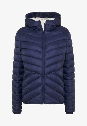 ESSENTIALS HELIO PADDED JACKET - Chaqueta de entretiempo - atlantic navy