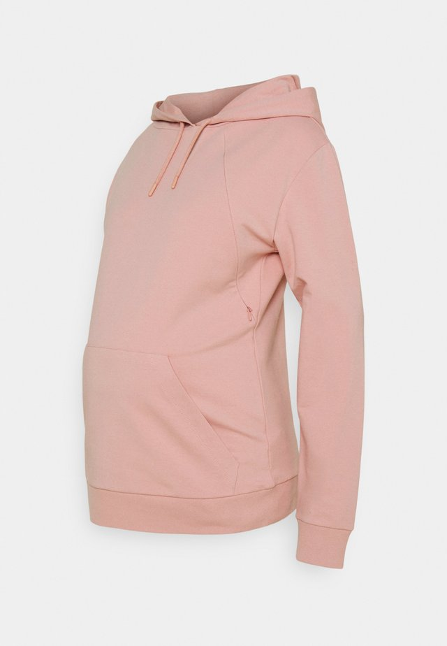 HOODY NURSING - Sweatshirt - dusty rose