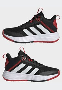 adidas Performance - Basketball shoes - black - 5