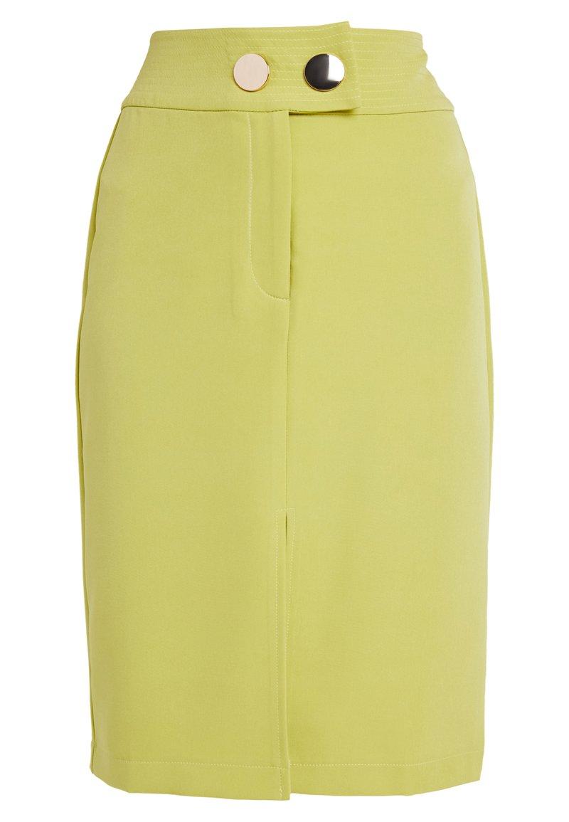 4th & Reckless Petite - RILEY SKIRT - Pouzdrová sukně - lime