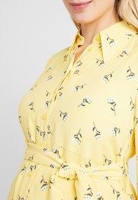 IVY & OAK Maternity - MATERNITY DRESS - Skjortekjole - sunshine - 5