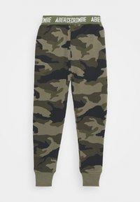 Abercrombie & Fitch - LOGO - Teplákové kalhoty - khaki - 1
