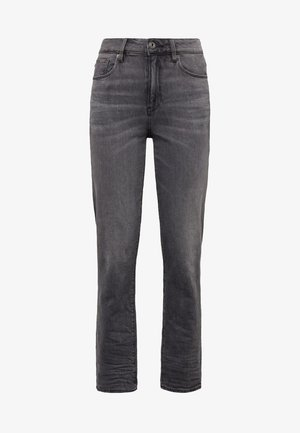 3301 HIGH STRAIGHT 90S ANKLE - Straight leg jeans - authentic black