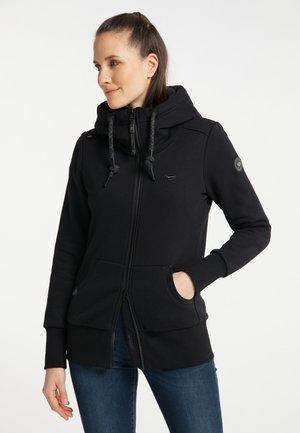NESKA ZIP UPGRADE - Zip-up hoodie - black