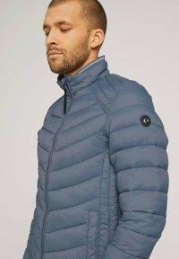 TOM TAILOR - Light jacket - blue grey - 3