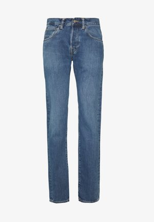 Jeans Straight Leg - light-blue denim