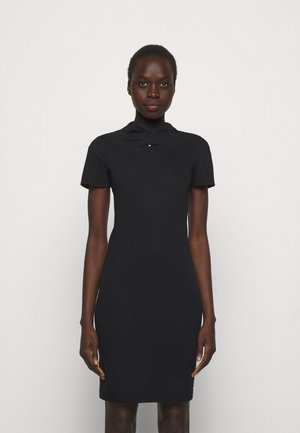 TUBE DRESS - Jersey dress - black