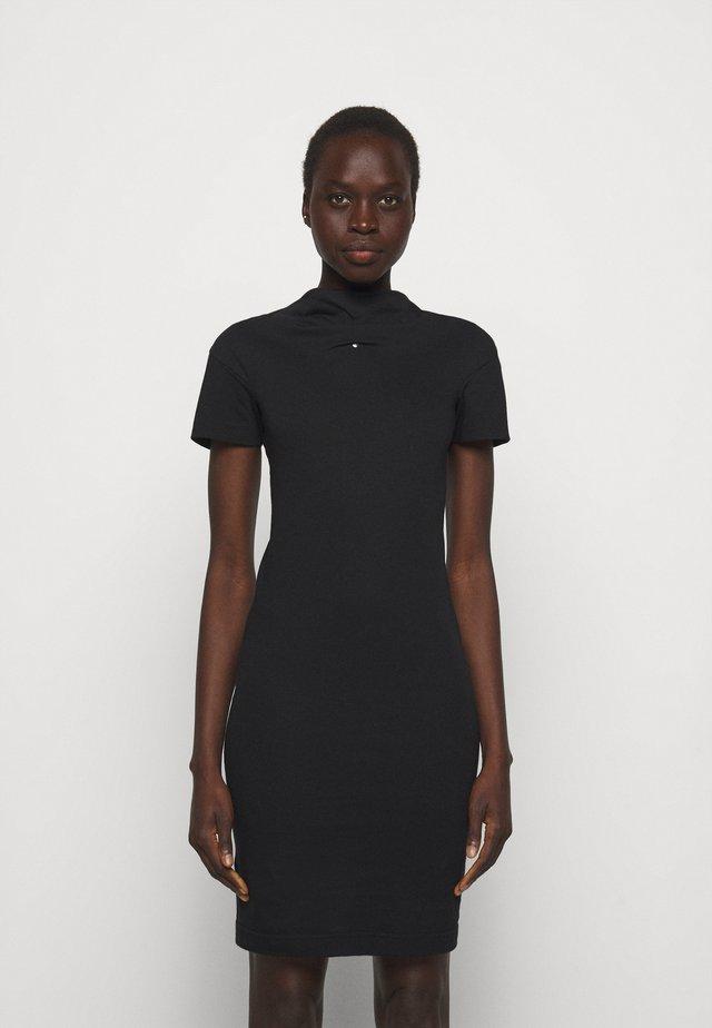 TUBE DRESS - Sukienka z dżerseju - black