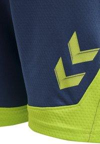 Hummel - LEAD  - Shorts - dark denim - 4