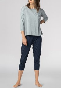 Mey - SCHLAFHOSE SERIE NIGHT2DAY - Pyjama bottoms - night blue - 1