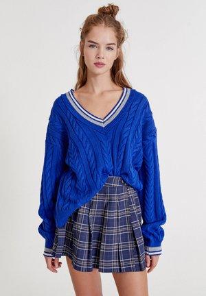 MIT COLLEGE - Sweter - blue