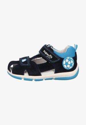 Walking sandals - blau/blau