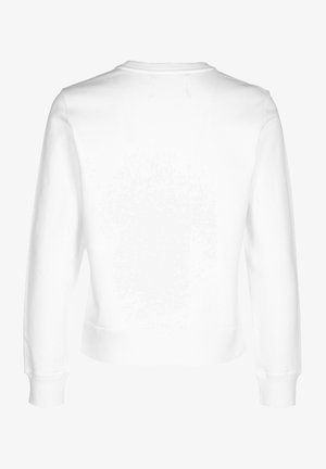 SWEATER INSTITUTIONAL REGULAR CREW NECK W - Sweatshirt - white