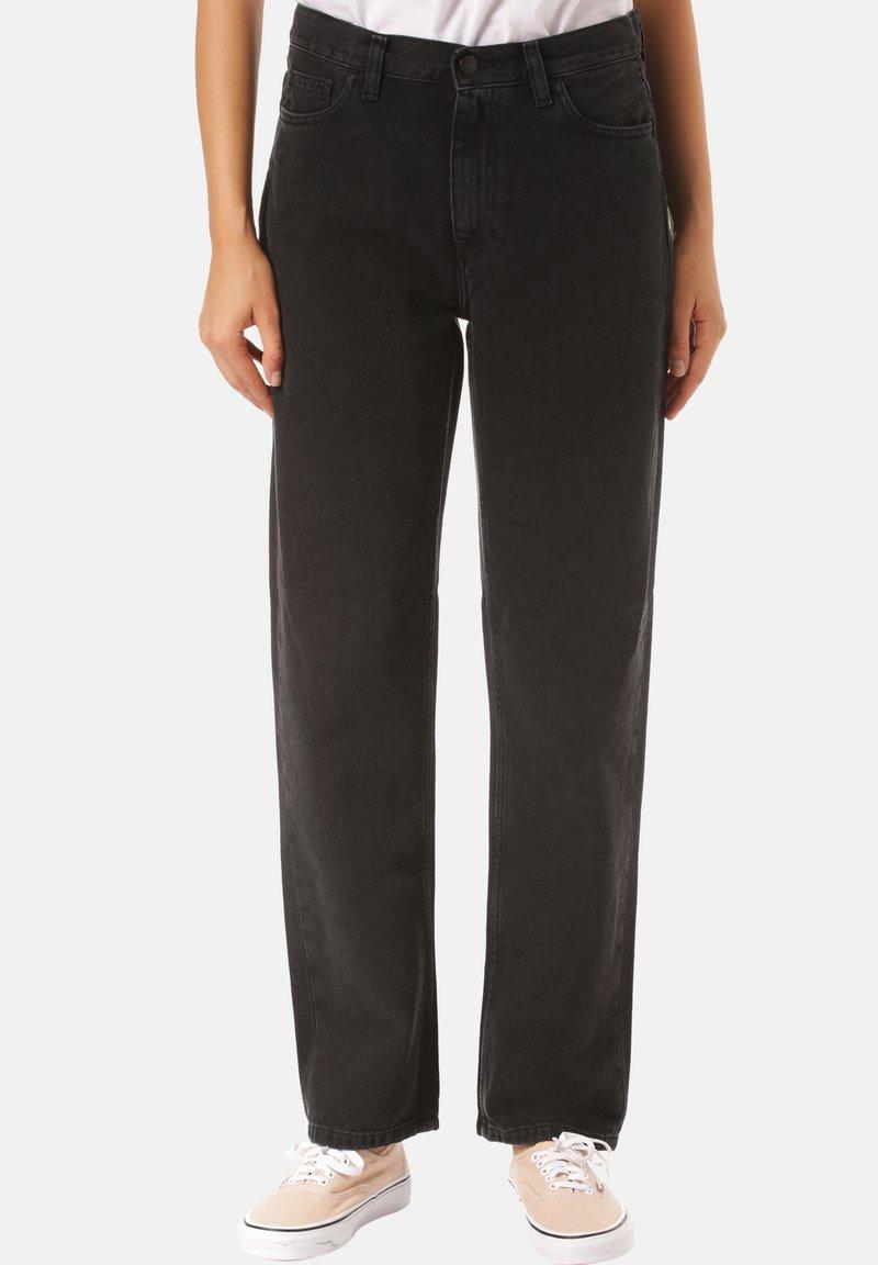 Carhartt WIP - Flared Jeans - black