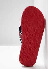 Tommy Hilfiger - CITY PRINT BEACH  - Sandalias de dedo - red - 4