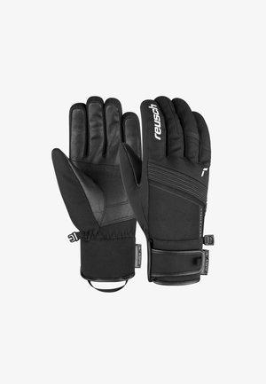 LUCA - Gloves - black/white