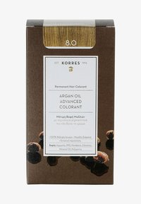 Korres - ARGAN OIL ADVANCED COLORANT - Hair colour - 8.0 light blonde - 0