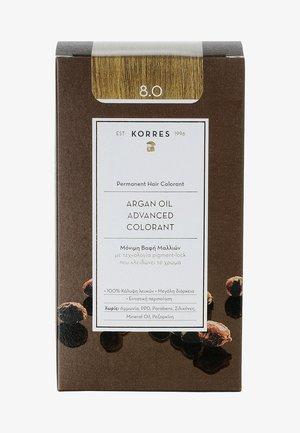 ARGAN OIL ADVANCED COLORANT - Koloryzacja włosów - 8.0 light blonde