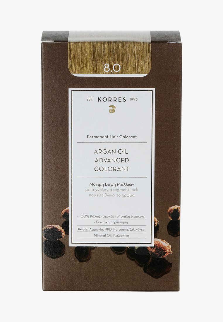 Korres - ARGAN OIL ADVANCED COLORANT - Hair colour - 8.0 light blonde