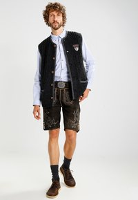 Stockerpoint - LAURENCE - Kožené kalhoty - bison - 1