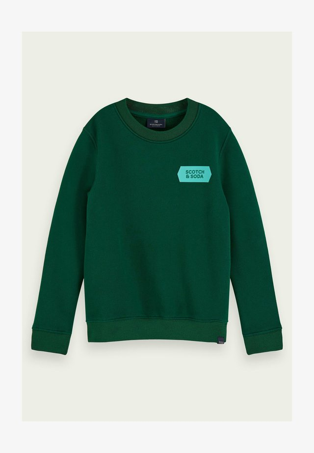 Sweater - jungle green