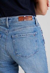 Tommy Hilfiger - RIVERPOINT CIGARETTE DELI - Slim fit jeans - blue denim - 3