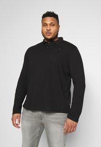 Burton Menswear London - 2 PACK - Polo shirt - black/grey - 1