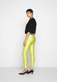 Versace Jeans Couture - Leggings - Trousers - verde mela - 2