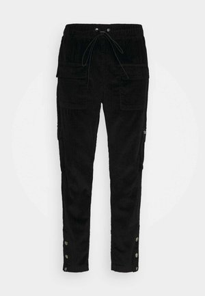 NALEON - Cargo trousers - black