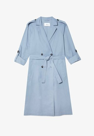 Trenchcoat - light blue