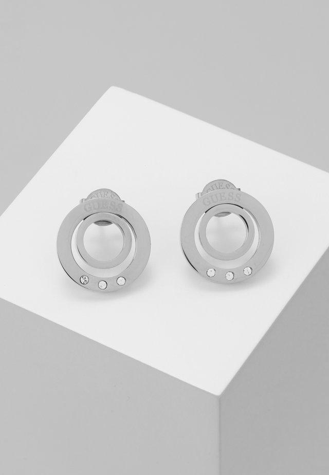 ETERNAL CIRCLES - Earrings - silver-coloured