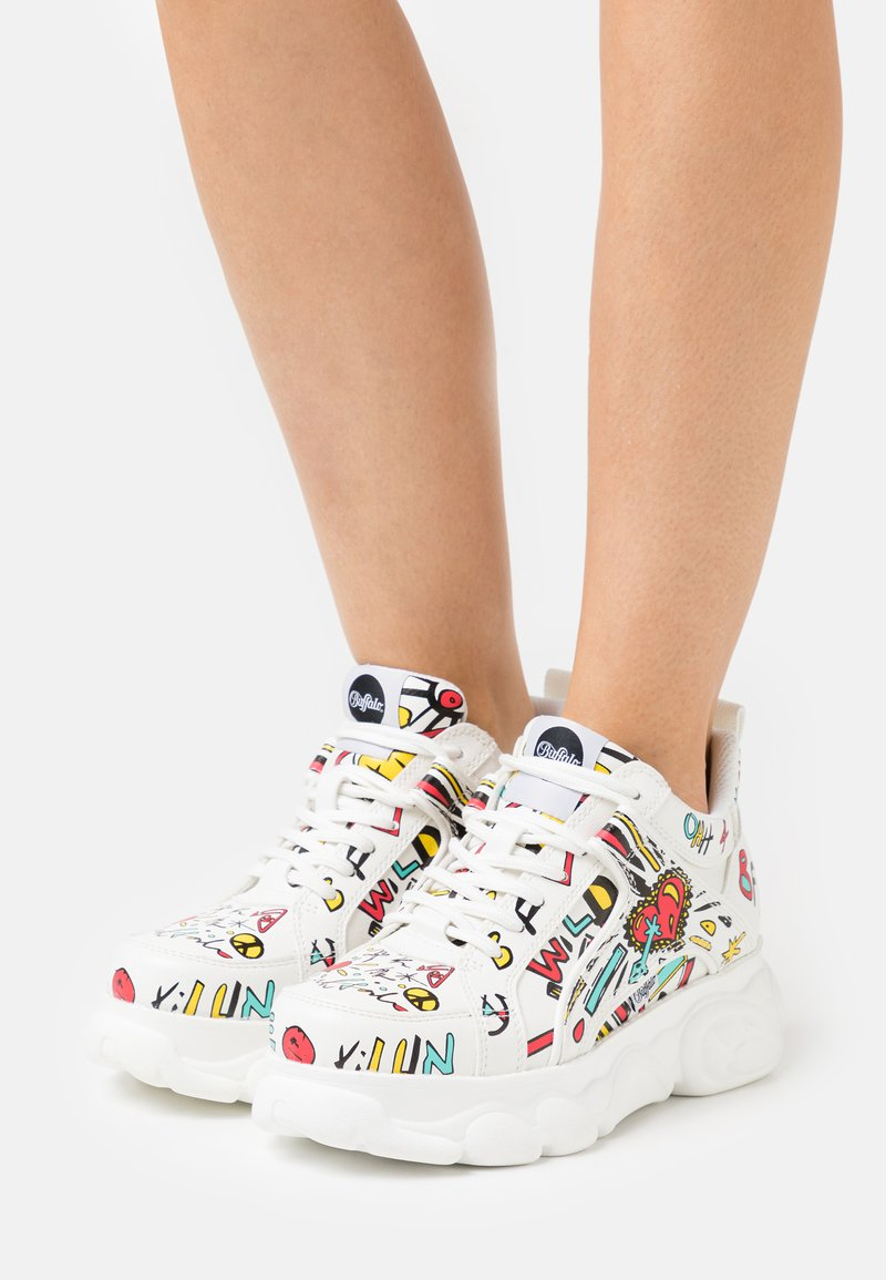 Buffalo - VEGAN CORIN - Trainers - white/multicolor