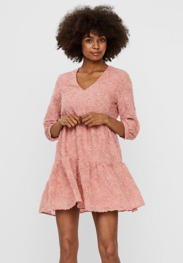 VMLAURA SHORT DRESS - Korte jurk - rosette