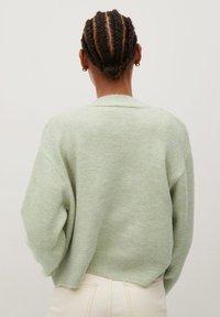 Mango - MARGARIT - Vest - vert pastel - 2