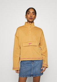 Nike Sportswear - Sweatshirt - flax/cactus flower - 0