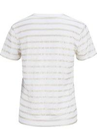 Majestic - Print T-shirt - blanc  silver metal - 2